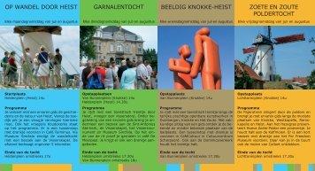 Op wandel door Heist Garnalentocht Beeldig Knokke-Heist Zoete en ...