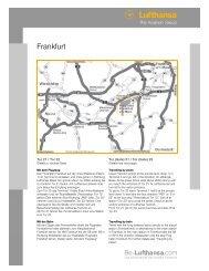 Wegbeschreibung Übergang FRA ohne CCT - Be-Lufthansa.com
