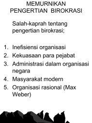 Pertanggungjawaban dalam Birokrasi Publik - Kumoro.staff.ugm.ac.id