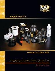 US Seal Catalog - All Seals Inc.