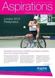 London 2012 Paralympics - Aspire