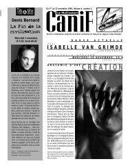 1er novembre 1999 - Cégep du Vieux Montréal