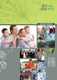 Rapport annuel 2010-2011 - Conseil québécois du loisir