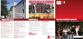 GRIFFITH HALLS OF RESIDENCE - Griffith College Dublin