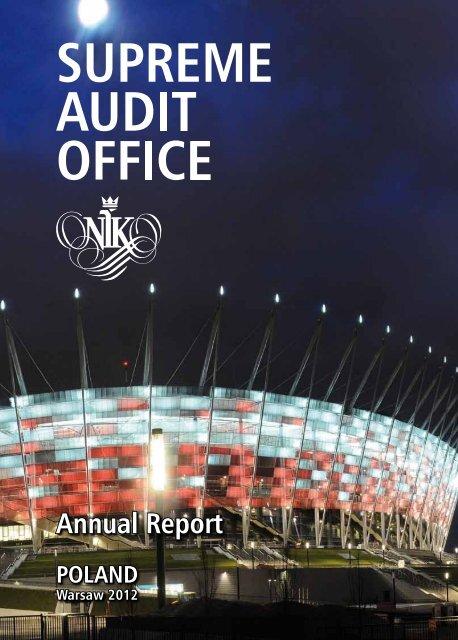 Supreme Audit Office - Annual Report 2011 - Najwyższa Izba Kontroli