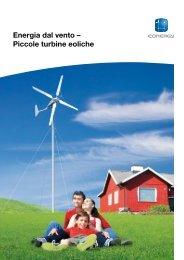 Energia dal vento – Piccole turbine eoliche - Geopower