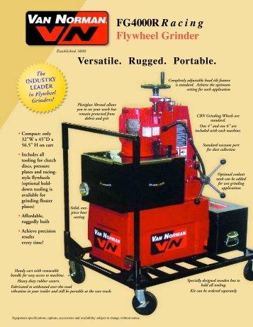 FG4000R R a c i n g Flywheel Grinder - Assurich.com.my