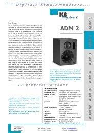 ADM 2 Datenblatt, deutsch - bei Thum + Mahr!