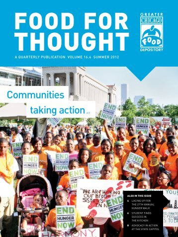 Communities taking action p.4 - Greater Chicago Food Depository