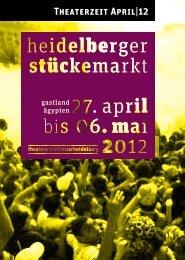 Aufbruch! - Theater und Orchester Heidelberg