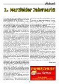 Die Dorfzeitung der Gemeinschaft der ... - Martfeld Live - Seite 7