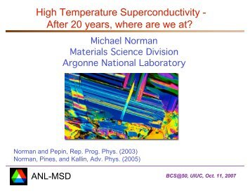 High Temperature Superconductivity - After 20 years, where are we ...
