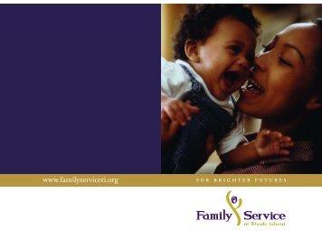 2006 Annual Report [PDF] - Family Service of Rhode Island