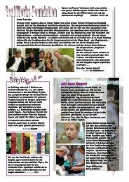 Newsletter Juli 2007 - Soul Works Foundation