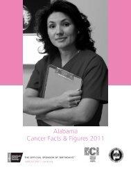 Alabama Cancer Facts & Figures 2011 - Alabama Department of ...