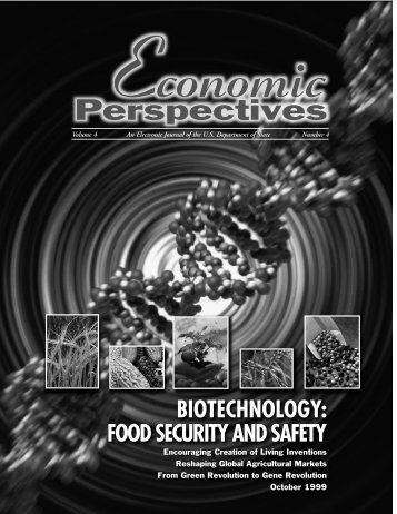 Biotechnology: Food Security & Safety - About the USA