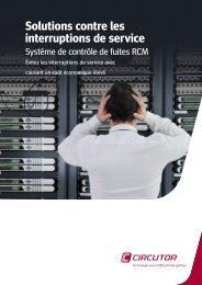 Solutions contre les interruptions de service - Circutor