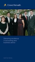 Delivering excellence in accounting and business advice