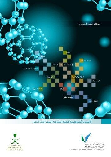 الأولويات الإصرتاتيجية للتقنية املتناهية الصغر )تقنية النانو(