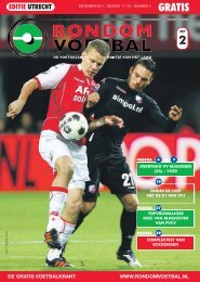 seizoen 20072008 nummer 2 Rondom Voetbal