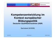 Deutscher Qualifikationsrahmen - NUN