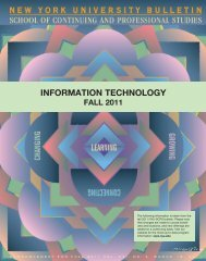 information technology - School of Continuing and Professional ...