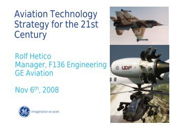3. Aviation Technology Strategy for the 21st Century