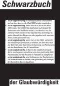 """Das """"Schwarzbuch der Glaubwürdigkeit! - Seite 2"""