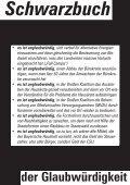 """Das """"Schwarzbuch der Glaubwürdigkeit! - Seite 3"""