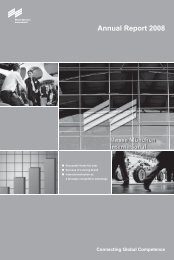 Annual Report 2008 - Messe München International