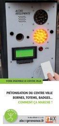 Piétonisation : mode d'emploi - Aix-en-Provence