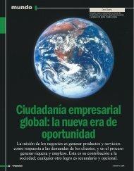 Ciudadanía empresarial global - Instituto de Ciencia Política