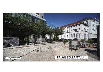 PALAIS ZOLLAMT, Linz