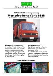 Mercedes-Benz Vario 815D - thoma mobil