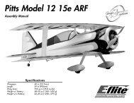 Pitts Model 12 15e ARF - E-flite