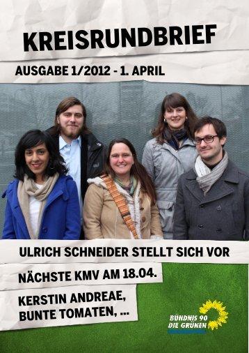 KRB 1/2012 - Bündnis 90/Die Grünen Konstanz