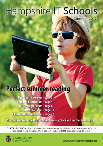 Summer newsletter - Hampshire County Council