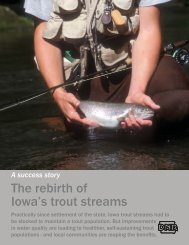 trout stream brochure 12 page.indd - Iowa Publications Online ...
