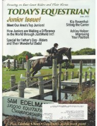Todays Equestrian - June 2013 - Phelps Media Group