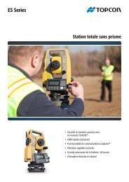Brochure Série ES - Topcon Positioning