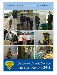Annual Report 2011 - Delaware Department of Agriculture