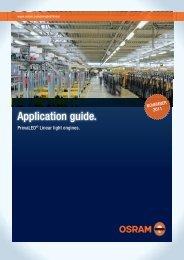 Application guide. - Osram