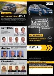 opel zafira - thiele / bartels GmbH