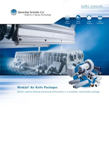 WindJet® Air Knife Packages - SGN Tekniikka Oy