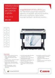 Velkoformátová tisková řešení pro CAD/GIS a výrobu - Verso