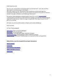 JUNGES THEATER im Zwinger³ - Theater und Orchester Heidelberg