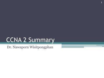 CCNA 2 Summary
