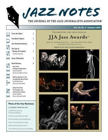 Jazz Notes, Vol. 20 Issue 2 - Jazzhouse.org
