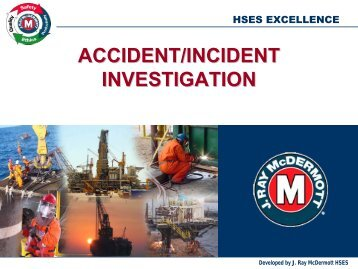 ACCIDENT/INCIDENT INVESTIGATION - IPLOCA.com