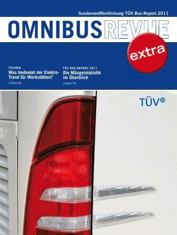 TÃœV Bus-Report 2011 - Verband der Technischen Ãœberwachungs ...